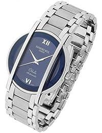 Montre Raymond Weil Othello 2285065automatique acier Quandrante Bleu Bracelet Acier