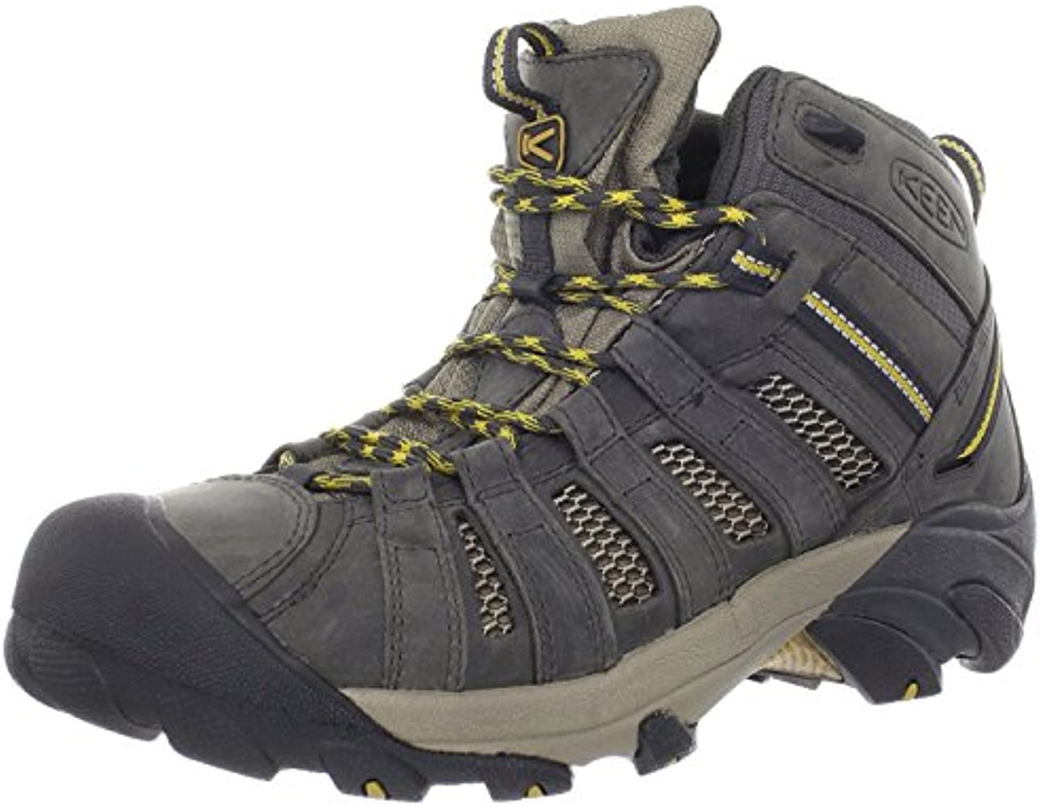 Keen Men'S Voyageur Mid Hiking Boot, Raven/Tawny Olive, 45 D(M) EU/10.5 D(M) UK