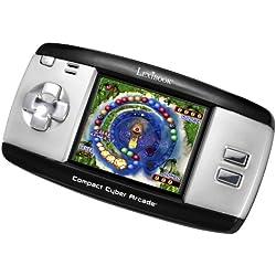 Lexibook LEXIBOOK-JL2375 Console Portable Compact Cyber Arcade, 250 Jeux, écran LCD, à Piles, Noir/Gris, JL2375