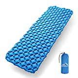EKKONG Inflatable Sleeping Pad – Ultralight, Compact Inflating Pads - Best Sleeping Pads