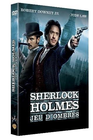 WARNER HOME VIDEO Sherlock Holmes : jeux d'ombres by Robert Downey JR (Sherlock Holmes Films Robert Downey Jr)
