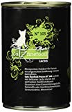 Catz finefood Katzenfutter Purrrr 105 Lachs, 6er Pack (6 x 375 g)