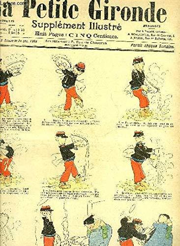 LA PETITE GIRONDE SUPPLEMENT ILLUSTRE - 8EME ANNEE N° 52 DEC. 1905 - l'album des baisers - monsieur et madame sauce - jean et jeanne - cadeaux de noel - les grippés par Abel Faivre - l'escompte de noel - voici l'hiver par Hémard. par COLLECTIF