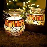 Duftlampe Tunis Aromalampe Mosaik-Glas Vernebler Deko aroma melts