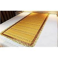 Coole Matratze Liangxi Klimaanlage Sitze Bambusmatte einseitig Faltbar mit Spitze Gold 90CM Coole Bambusmatte (größe : 90 * 220cm) preisvergleich bei kinderzimmerdekopreise.eu