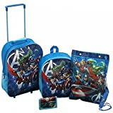 Best Luggage Sets - Marvel Avengers Luggage Set Boys 4 Piece Trolley Review
