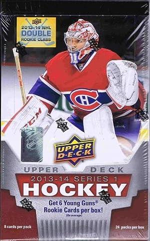 Upper Deck/2013 14 Series 1 NHL-Hockey Boîte de rangement pour accessoires de Hobby