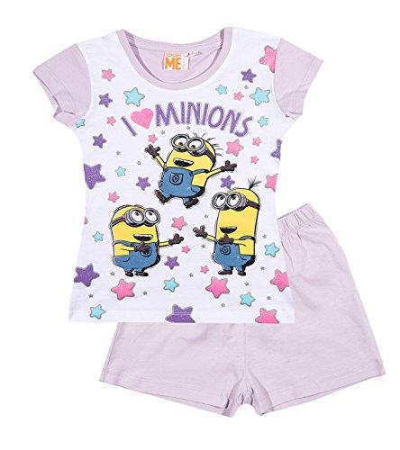 Pijama mangas cortas – púrpura