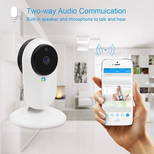 3-wege-kühlschrank (HCFKJ Hd 1080P Wifi ÜBerwachungskamera Monitor Kamera Mit Nachtsicht Motion Detection Zwei Wege Audio)