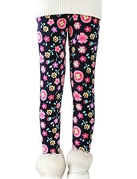 Bambine Pantaloni Leggins Pantalone Leggings Stampa Leggings Yoga Matita Pantaloni Stretch Fuseaux
