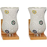 Afast Colorful Decorative Mosaic Wall Lamp (Set Of 2)- BA10