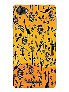 TREECASE Designer Printed Soft Silicone Back Case Cover For Reliance Jio Lyf Wind 1