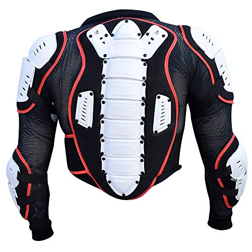 HEEZY Kinder Protektorenjacke Protektoren Jacke Hemd Weste Ski Snowboard Motocross Quad BMX - Gr. XS
