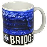 "Oficial ""Stamford Bridge"" CHELSEA FC taza de cerámica azul último diseño"