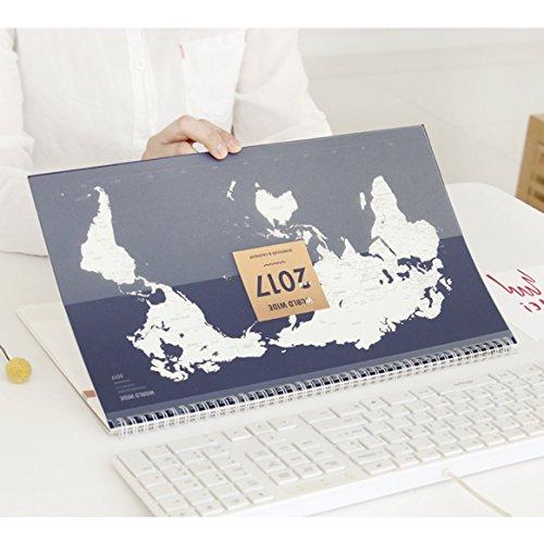 2017-world-wide-planner-scheduler-organizer-cutting-board-memo-board-mousepad