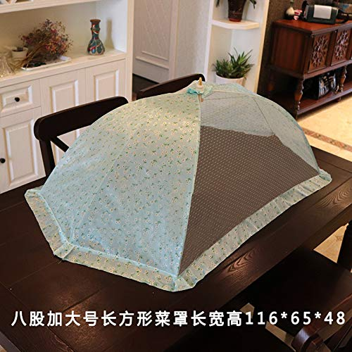 BBDQX Il peut plier une grande couverture de plat, nourriture de table, couverture de nourriture, couverture de plat, couverture de riz, couverture anti-moustique de moustique de bébé de mouche, Hui