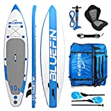 Bluefin Tabla de Paddle Surf Hinchable Híbrida Convertible en Kayak con Tabla Stand Up Paddle Sup,...