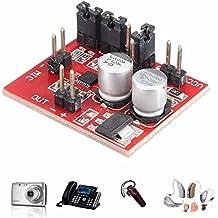 SODIAL Nuovo modulo amplificatore per microfono electret MAX9814 Funzione AGC DC 3.6-12V per scheda componenti acustici Arduino
