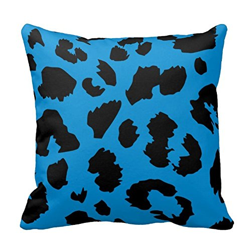Classic Panther Print dekorativer Überwurf-Kissenbezug Animal, Color1, 20x20 inch (Animal-print Körper Kissenbezug)