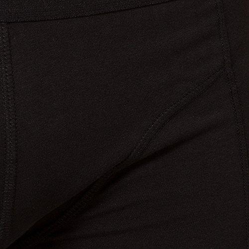 Ultrasport Herren Boxershorts - Unterhose in verschiedenen Farben & Sets 4er Set, Schwarz