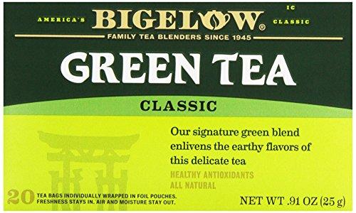 Bigelow Classic Green Tea 20 Tea Bag Box 25g