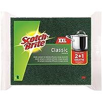 Scotch-Brite Estropajo Clásico XXL  - Paquete de 2+1unidades