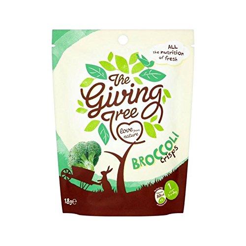 Geben Baum Vakuum Gebratene Brokkoli Chips 18G - Packung mit 2 -