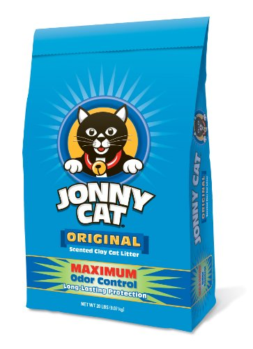 Jonny Cat Original Maximale Geruchskontrolle Duftkerze Ton Katzenstreu Tasche, 9kg (Lb-tasche Katzen 20)