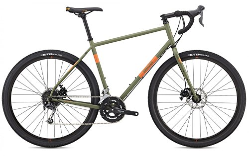 Breezer Radar Expert Cyclocross Bike 2018 (48cm, Matte Army green w/hunter orange)