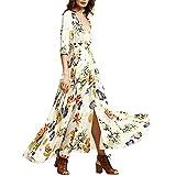 Vestido largo Amlaiworld Mujer Boho vestido de noche Maxi playa Sundress (Tamaño Asiático: S,...