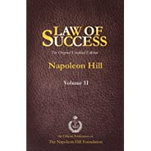 Law of Success Volume II: The Original Unedited Edition by Napoleon Hill (2013-07-16)