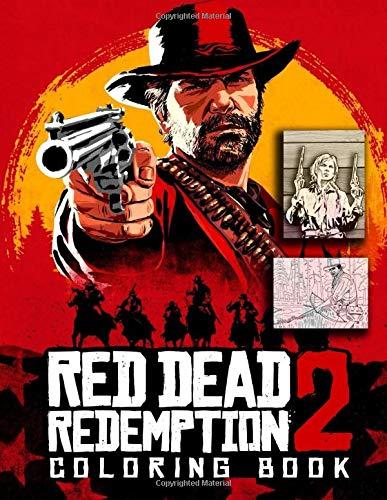 Preisvergleich Produktbild Red Dead Redemption 2 Coloring Book