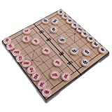 Chinesisches Schach Xiangqi mit Magnetic Travel Set, T Tocas ( Groß (Chinese Platte 31 x 31 x 2 cm))
