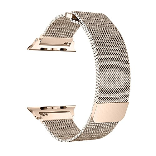 EH HE Apple Watch Armband,38mm Milanaise Strap Armband Replacement Wrist Band für Apple Watch 42mm Serie1,2,3