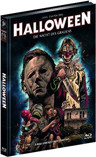 Halloween 1 - Die Nacht des Grauens - Mediabook auf Blu-ray und DVD + CD-Soundtrack (+ Bonusfilm