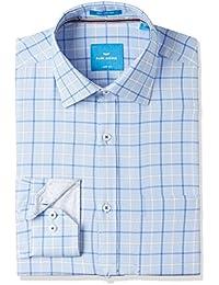 Park Avenue Men's Formal Shirt (8907663235874_PMSY09769-B3_Medium Blue_39)