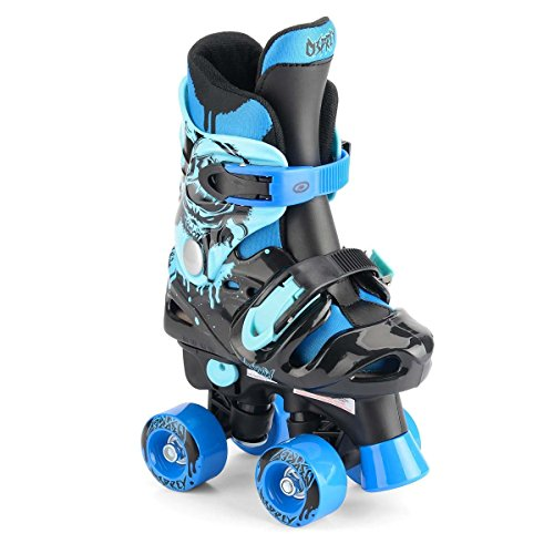 Osprey Kinder Electric Blue Osprey Quad Rollschuhe Kinder Verstellbare Roller Stiefel, Kinder, Electric Blue Osprey Quad Skates, blau,
