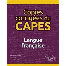 Copies corrigées du CAPES : Langue française