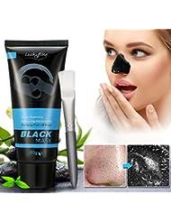 Masque Noir, LuckyFine Anti-Point Masque, Point Noir Masque, Peel off Masque, Blackhead Masque, nettoyant en profondeur