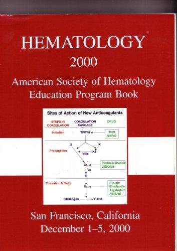 hematology-2000-american-society-of-hematology-education-program-book