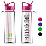 Best Water Bottles - Water Bottle, Degbit [900 ml/ 32oz] BPA Free Review
