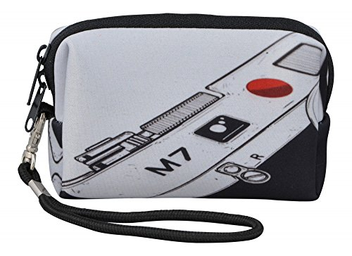 MySleeveDesign Kameratasche Hülle aus Neopren für Digitalkameras Kompaktkameras - Passend für Sony Canon Panasonic Olympus Samsung Nikon uvm. - VERSCH. DESIGNS - Camera