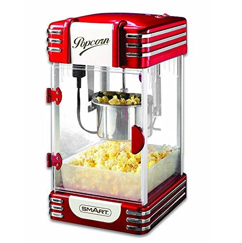 Smart Retro Wasserkocher Popcorn Maker, Schwarz