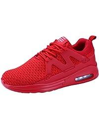 wealsex Scarpe Sportive Uomo Scarpe da Ginnastica Corsa Sportive Fitness Running Sneakers Basse Interior Casual Wm67Lr0