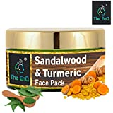 The EnQ Sandalwood and Turmeric Face 50 gm|| Removal De-tan Face Pack || Mulethi