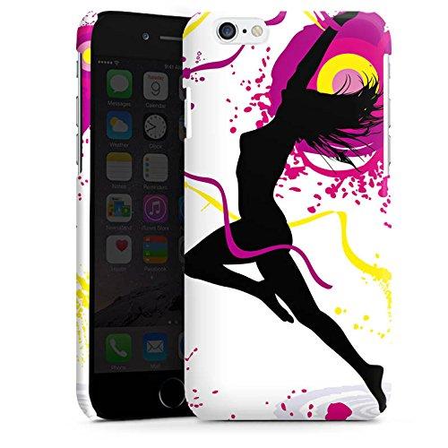 Apple iPhone 6 Housse Étui Silicone Coque Protection Femme Femme Danser Cas Premium brillant