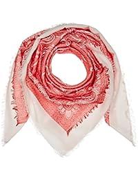 Naf Naf VIGOU, Chal para Mujer, Rojo (Carmin), Talla única