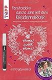 Produkt-Bild: Fensterdeko durchs Jahr mit dem Kreidemarker. Inkl. Original Kreidemarker von Kreul: Vorlagenmappe mit Motiven in Originalgröße und als Download