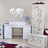 Wall Sticker Cartoon Polar Bear digitale disponibile