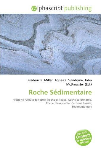 Roche Sédimentaire: Précipité, Croûte terrestre, Roche siliceuse, Roche carbonatée, Roche phosphatée, Carbone fossile, Sédimentologie